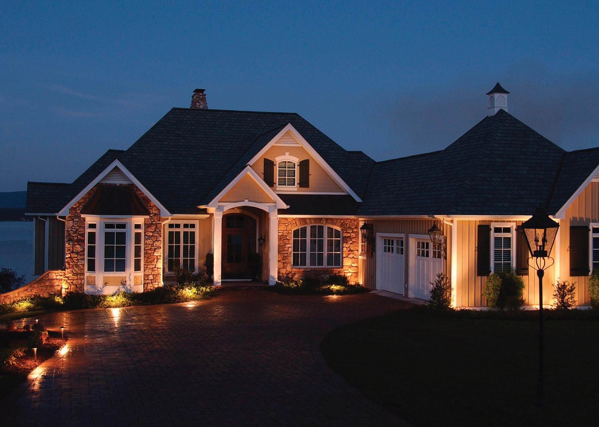 Exterior Home Lighting Home Design Photo
