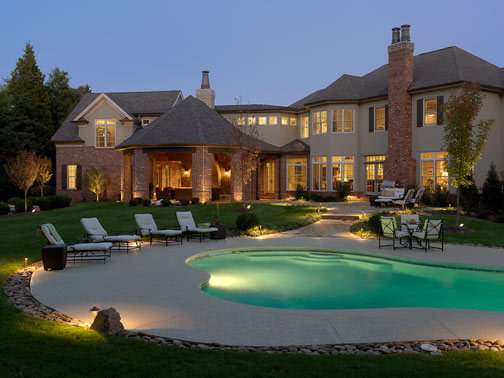 It's Pool Time!   Outdoor Lighting and Landscape Lighting in St ...:Pools ...,Lighting