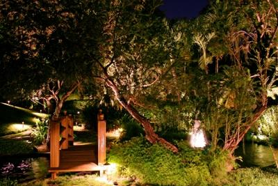 Outdoor Lighting Perspectives of St. Louis path and landscape lighting