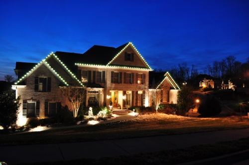 C9 Holiday outdoor lights by Outdoor Lighting Perspectives