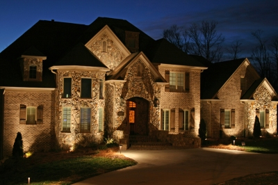 upscale landscape lighting St. Louis