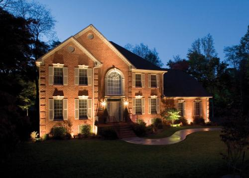 St. Louis architectural landscape lighting