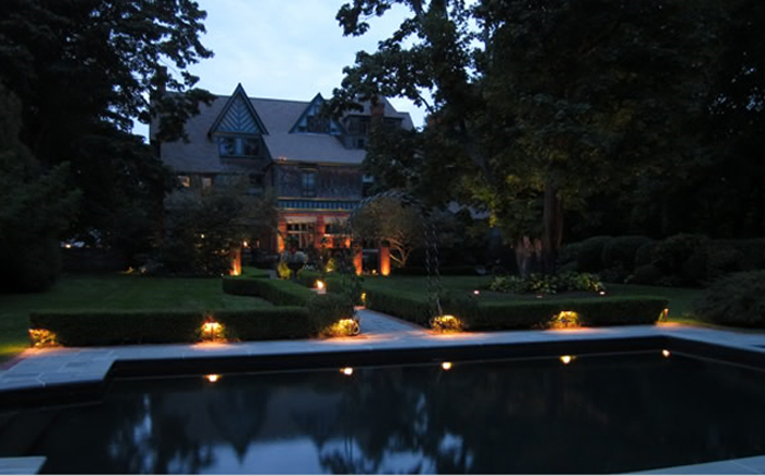 Charmant St. Louis Pool Lighting Done Right