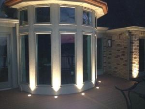 Lake St Louis deck lighting outdoor lighting
