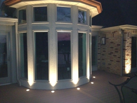Lake St Louis deck lighting outdoor lighting