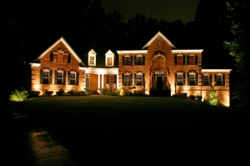 St. Louis facade and architectural lighting