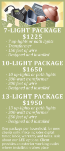 StLouis outdoor lighting specials discounts offers