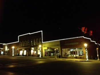 St. Louis C9 storefront commercial lighting