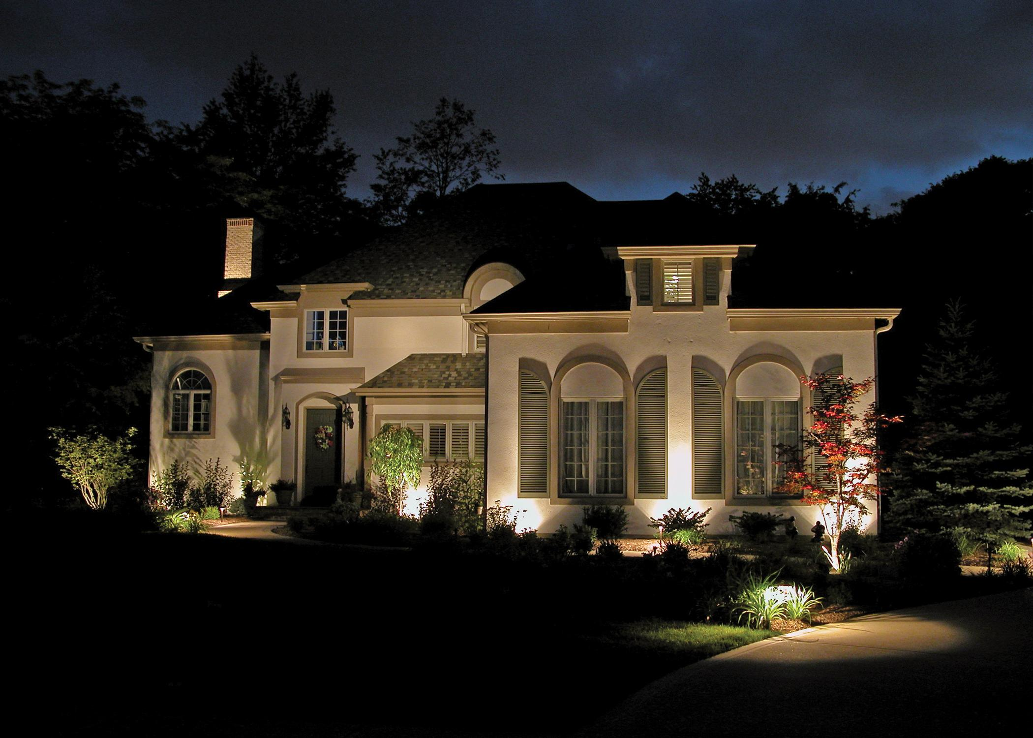 lighting will attract fewer insects outdoor lighting and landscape