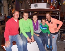 Schwartz family Christmas 2012