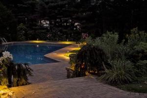 pool and patio lighting