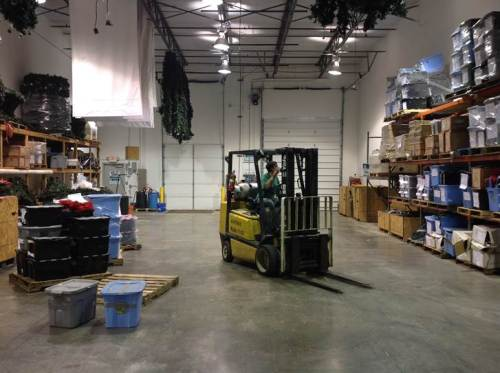Outdoor Lighting Perspectives of St. Louis holiday lighting storage warehouse