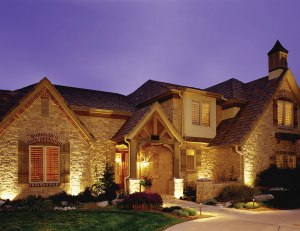 Outdoor lighting with curb appeal