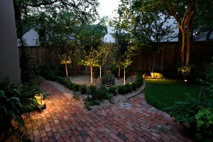 Rhode Island tree and landscape lighting
