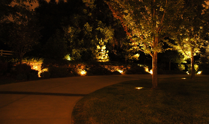 Safety lighting outdoor lighting and landscape lighting for How to install driveway lights